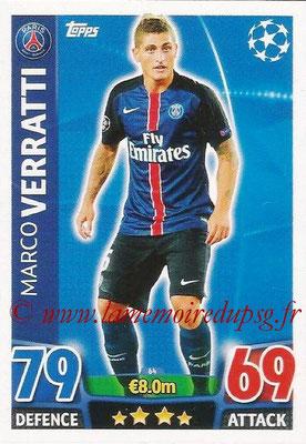 2015-16 - Topps UEFA Champions League Match Attax - N° 064 - Marco VERRATTI (Paris Saint-Germain)