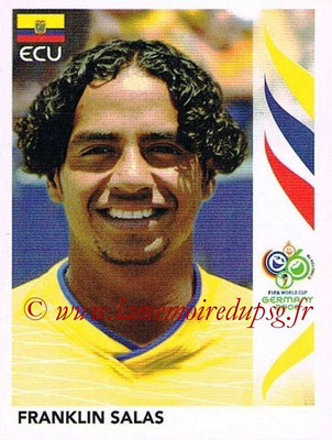2006 - Panini FIFA World Cup Germany Stickers - N° 090 - Franklin SALAS (Equateur)