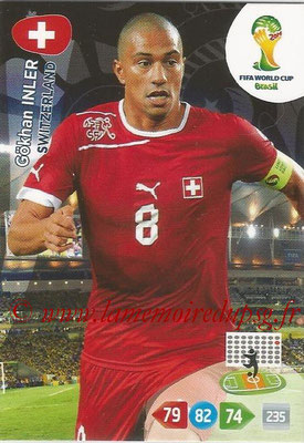 2014 - Panini FIFA World Cup Brazil Adrenalyn XL - N° 298 - Gokhan INLER (Suisse)