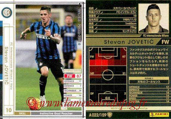 2015-16 - Panini WCCF - N° A022 - Stevan JOVETIC (FC Inter Milan)