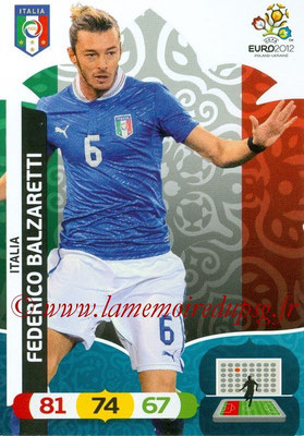 Panini Euro 2012 Cards Adrenalyn XL - N° 118 - Federico BALZARETTI (Italie)