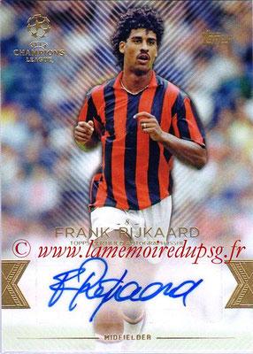 2015-16 - Topps UEFA Champions League Showcase Soccer - N° CLA-FR - Frank RIJKAARD (Milan AC) (Base Autographs Cards)