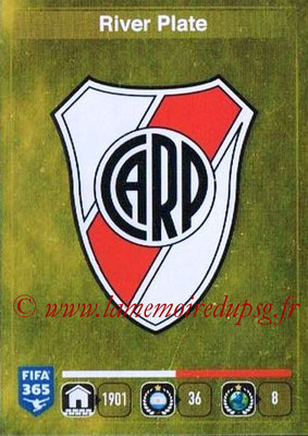 2015-16 - Panini FIFA 365 Stickers - N° 101 - Ecusson River Plate