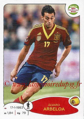 2014 - Panini Road to FIFA World Cup Brazil Stickers - N° 129 - Alvaro ARBELOA (Espagne)