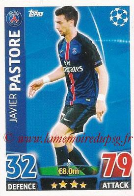 2015-16 - Topps UEFA Champions League Match Attax - N° 066 - Javier PASTORE (Paris Saint-Germain)