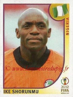 2002 - Panini FIFA World Cup Stickers - N° 405 - Ike SHORUNMU (Nigéria)