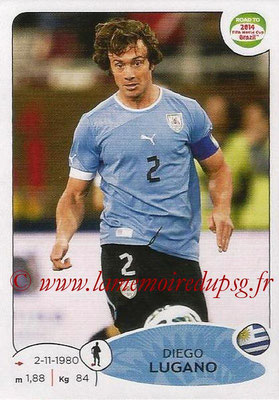 2014 - Panini Road to FIFA World Cup Brazil Stickers - N° 077 - Diego LUGANO (Uruguay)