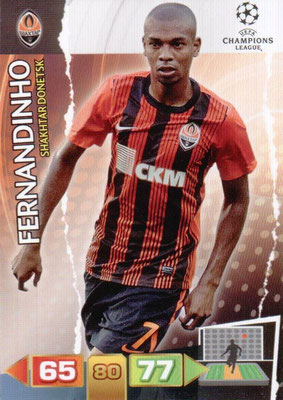 2011-12 - Panini Champions League Cards - N° 243 - FERNANDINHO (Shakhtar Donetsk)