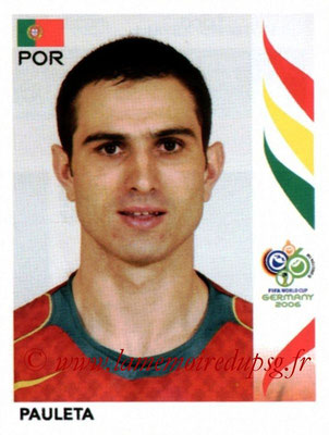 N° 300 - Pedro Miguel PAULETA (2006, Portugal > 2003-08, PSG)