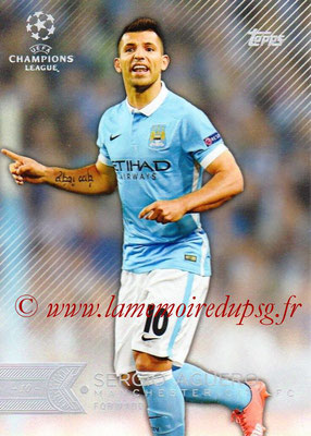 2015-16 - Topps UEFA Champions League Showcase Soccer - N° 093 - Sergio AGÜERO (Manchester City FC)