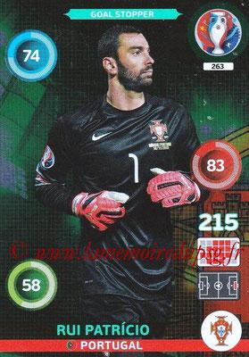 Panini Euro 2016 Cards - N° 263 - Rui PATRICIO (Portugal) (Goal Stopper)