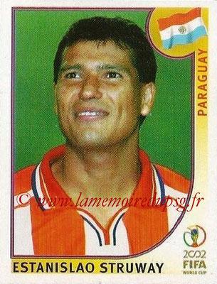 2002 - Panini FIFA World Cup Stickers - N° 144 - Estanislao STRUWAY (Paraguay)