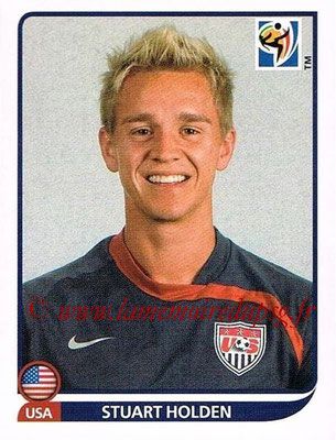 2010 - Panini FIFA World Cup South Africa Stickers - N° 214 - Stuart HOLDEN (États Unis)