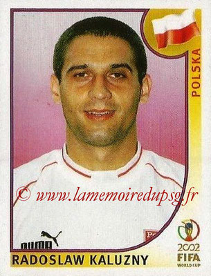 2002 - Panini FIFA World Cup Stickers - N° 270 - Radoslaw KALUZNY (Pologne)