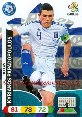Panini Euro 2012 Cards Adrenalyn XL - N° 093 - Kyriakos PAPADOPOULOS (Grèce)