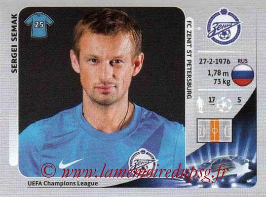 N° 183 - Sergeï SEMAK (2004-06, PSG > 2012-13, Zenith Saint-Petersburg, RUS)