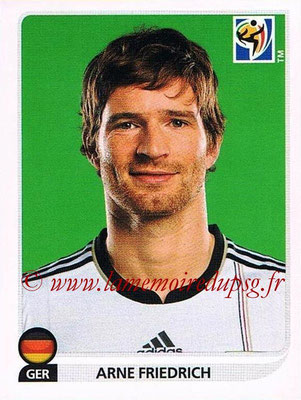 2010 - Panini FIFA World Cup South Africa Stickers - N° 266 - Arne FRIEDRICH (Allemagne)