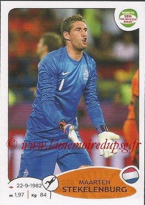 2014 - Panini Road to FIFA World Cup Brazil Stickers - N° 299 - Maarten STEKELENBURG (Pays-Bas)