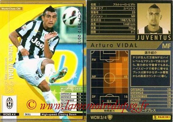 2012-13 - WCCF - N° WCM3 - Arturo VIDAL (Juventus FC) (World Class CM)