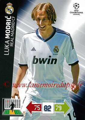 2012-13 - Adrenalyn XL champions League N° 229 - Luka MODRIC (Real Madrid CF)