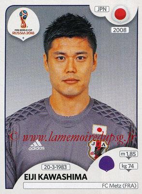 2018 - Panini FIFA World Cup Russia Stickers - N° 654 - Eiji KAWASHIMA (Japon)