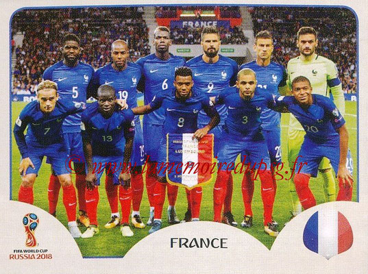 2018 - Panini FIFA World Cup Russia Stickers - N° 193 - Equipe France