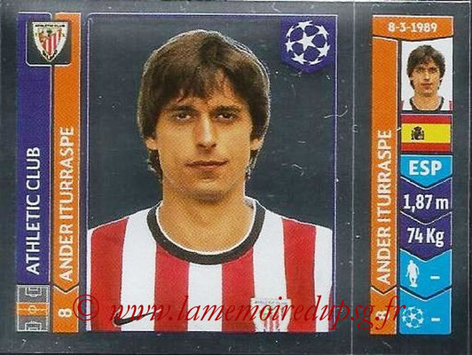2014-15 - Panini Champions League N° 602 - Ander ITURRASPE (Athletic Club Bilbao)