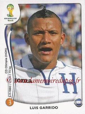 2014 - Panini FIFA World Cup Brazil Stickers - N° 405 - Luis GARRIDO (Honduras)