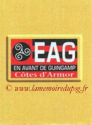 2014-15 - Panini Ligue 1 Stickers - N° 097 - Ecusson EA Guingamp