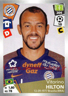2017-18 - Panini Ligue 1 Stickers - N° 290 - Vitorino HILTON (Montpellier)
