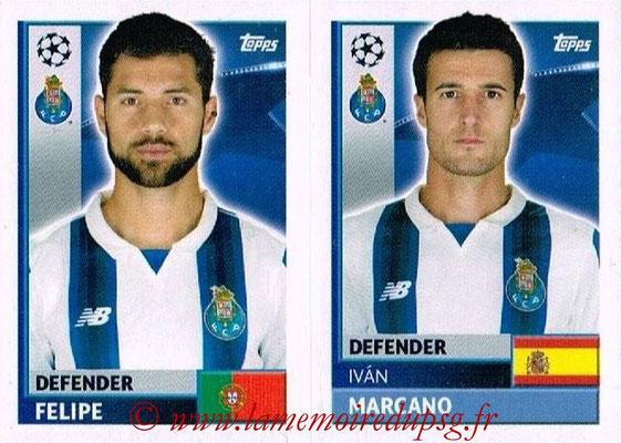 2016-17 - Topps UEFA Champions League Stickers - N° QFJ 7-8 - Ivan MARCANO + FELIPE (FC Porto)