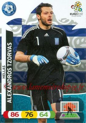 Panini Euro 2012 Cards Adrenalyn XL - N° 091 - Alexandros TZORVAS (Grèce)
