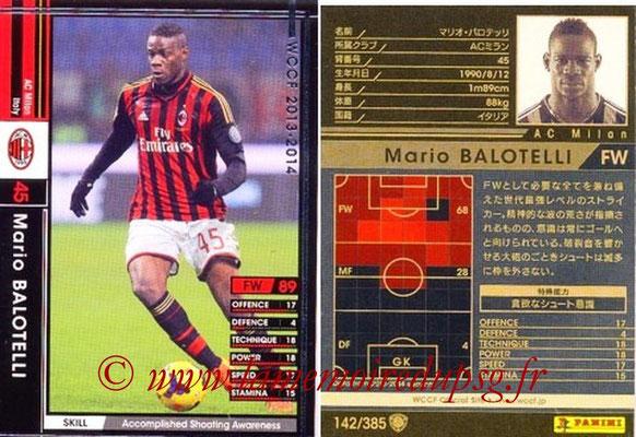 2013-14 - WCCF - N° 142 - Mario BALOTELLI (Milan AC)26