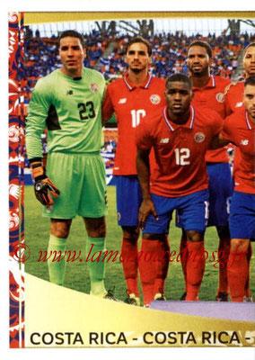 Panini Copa America Centenario USA 2016 Stickers - N° 063 - Equipe Costa Rica 1