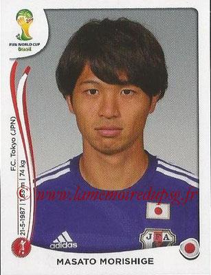 2014 - Panini FIFA World Cup Brazil Stickers - N° 250 - Masato MORISHIGE (Japon)