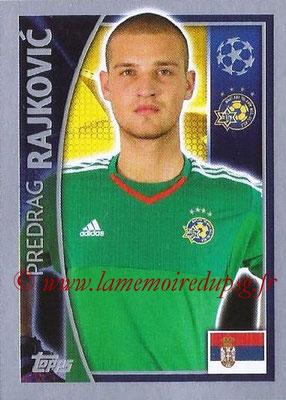 2015-16 - Topps UEFA Champions League Stickers - N° 495 - Predrag RAJKOVIC (Maccabi Tel-Aviv FC)