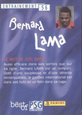 N° 056 - Bernard LAMA (Verso)