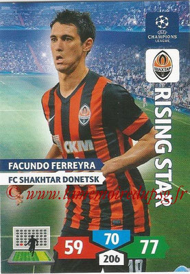 2013-14 - Adrenalyn XL champions League N° 261 - Facundo FERREYRA (FC Shakhtar Donetsk) (Rising Star)