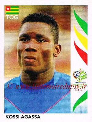 2006 - Panini FIFA World Cup Germany Stickers - N° 513 - Kossi AGASSA (Togo)