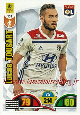 2018-19 - Panini Adrenalyn XL Ligue 1 - N° 133 - Lucas TOUSART (Lyon)