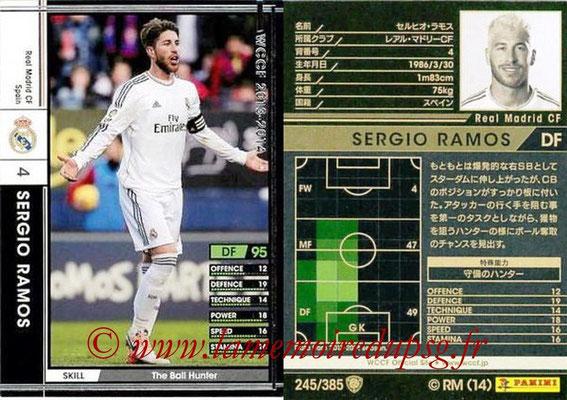 2013-14 - WCCF - N° 245 - Sergio RAMOS (Real Madrid CF)