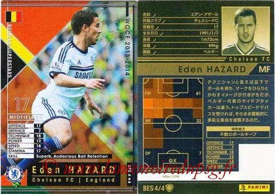 2013-14 - WCCF - N° BES4 - Eden HAZARD (Chelsea FC) (Belgian Superstars)