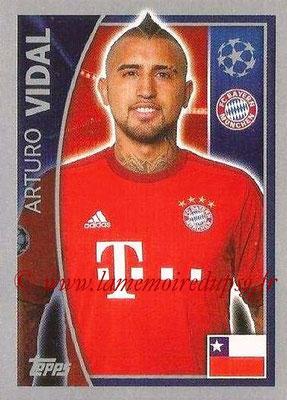 2015-16 - Topps UEFA Champions League Stickers - N° 386 - Arturo VIDAL (FC Bayern Munich)