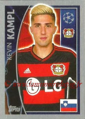 2015-16 - Topps UEFA Champions League Stickers - N° 328 - Kevin KAMPL (Bayer 04 Leverkusen)
