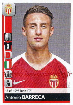 2018-19 - Panini Ligue 1 Stickers - N° 229 - Antonio BARRECA (Monaco)
