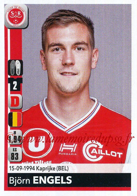 2018-19 - Panini Ligue 1 Stickers - N° 380 - Björn ENGELS (Reims)