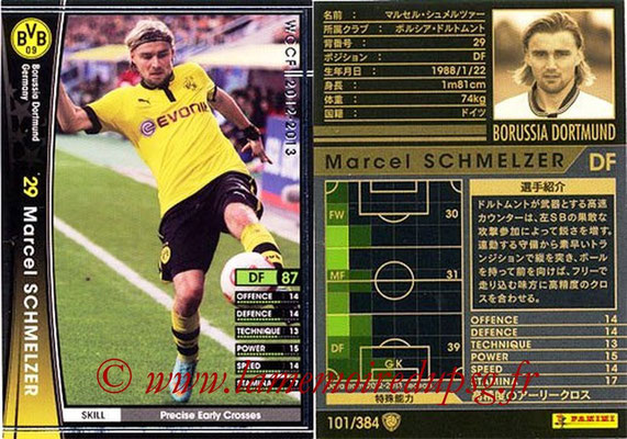 2012-13 - WCCF - N° 101 - Marcel SCHMELZER (Borussia Dortmund)