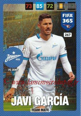 2016-17 - Panini Adrenalyn XL FIFA 365 - N° 267 - Javi GARCIA (FC Zenit)