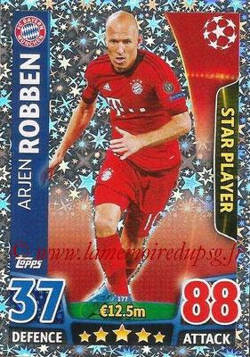2015-16 - Topps UEFA Champions League Match Attax - N° 177 - Arjen ROBBEN (FC Bayern Munich) (Star Player)