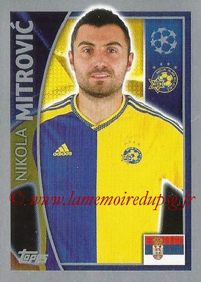 2015-16 - Topps UEFA Champions League Stickers - N° 502 - Nikola MITROVIC (Maccabi Tel-Aviv FC)